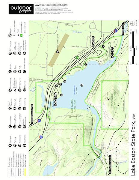 Lake Easton State Park Campground