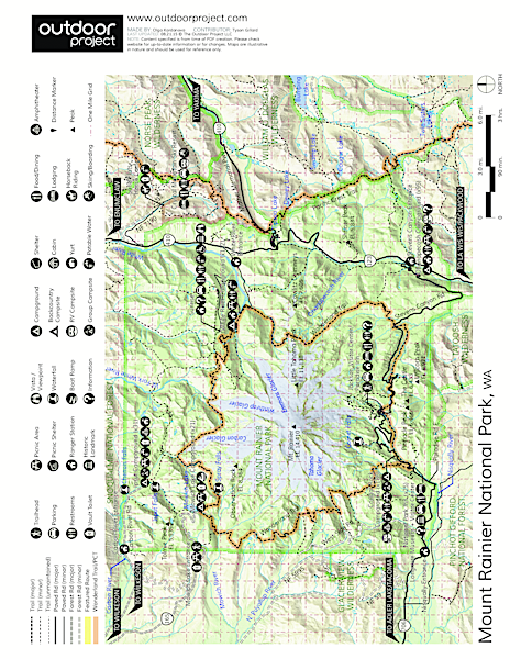 Tipsoo Lake Naches Peak Loop Trail Outdoor Project