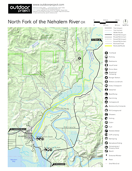 North Fork of the Nehalem River | Outdoor Project